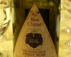 1996 Au Bon Climat Le Bauge au Dessus Bien Nacido Vienyard Santa Maria Valley Pinot Noir