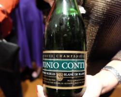 1982 Tonio Conti Blanc de Blanc sparkling wine