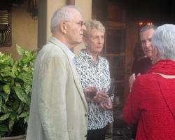 Stan Schneider with Lois Rice