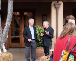 CEO Rick West with Bob Berendt