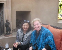 Jane Nakagawa and Jackie Autry