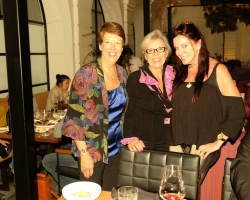 Jodie Rea, Cathy Crowser and Judy Lombard