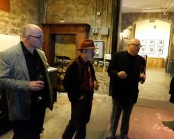 Bill Shopoff with Archie McLaren and David Breitstein