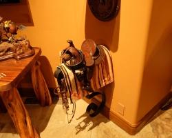 Another miniature saddle