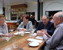 Ritchie Saunders, Ilean Engel, Jack Engel and Ken Saunders