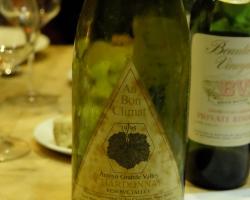 1995 Au Bon Climat Talley Vineyard Arroyo Grande Valley Chardonnay Reserve